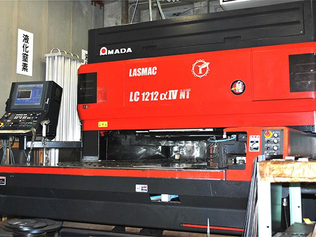 レーザー加工機AMADA:LC 1212α Ⅳ NT
